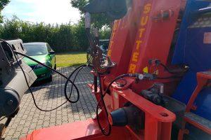 Ansteuerung Bremse vom Einsatzfahrzeug mit Manometer