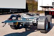 Transport-Bergeachse für Auflieger (DA2)