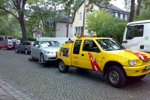 Tiefgaragen- Bergungsfahrzeug AWU32