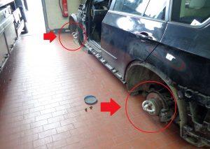 Verladung von Kraftfahrzeugen ohne Räder