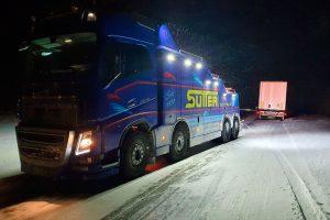 Abschleppwagen-Unterfahrlift AWU500 Umfeldbeleuchtung